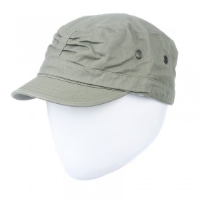 Zöld sildes sapka