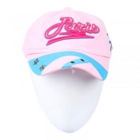 Világos rózsaszín baseball sapka
