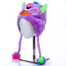 Szörnyecske sapka - lila