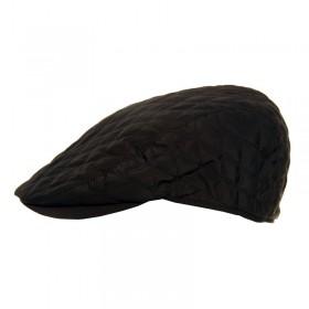 Steppelt fekete sapka