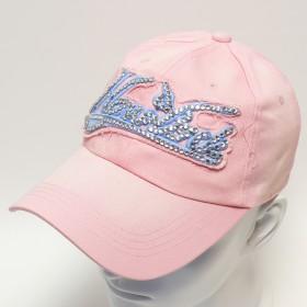 Rózsaszín női baseball sapka - New York
